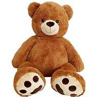 Medveď 135 cm čokoládový - Plyšová hračka