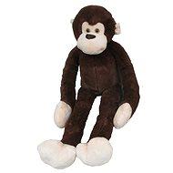 Plyšová opica dlhá ruka 100 cm, tmavohnedá - Plyšová hračka