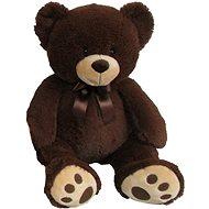 Plyšový medvedík 60 cm, tmavohnedý - Plyšový medveď