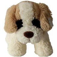 Psík s hnedými ušami 30 cm - Plyšová hračka