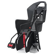 Polisport Koolah black and grey - Child's bike seat