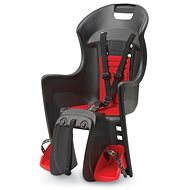 Polisport Boodie čierno-červená - Detská sedačka na bicykel