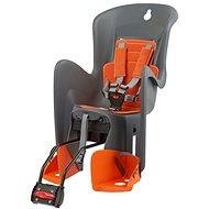 Polisport Bilby RS šedo-oranžová - Detská sedačka na bicykel