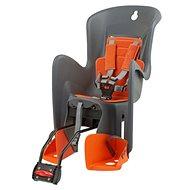 Polisport Bilby sivo-oranžová - Detská sedačka na bicykel