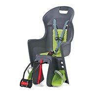 Polisport Boodie sivo-zelená - Detská sedačka na bicykel