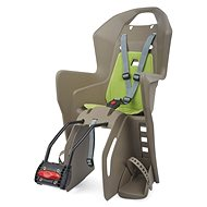 Polisport Koolah hnedo-zelená - Detská sedačka na bicykel