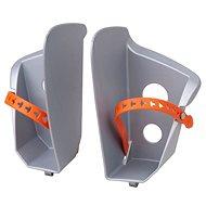 Náhradní stupačky sedačky Polisport Bilby, stříbrná - Príslušenstvo