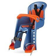 POLISPORT Bilby Junior modro-oranžová - Detská sedačka na bicykel
