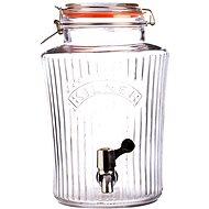 Kilner Sklenený nápojový automat 5 l fazetový - Nápojový automat
