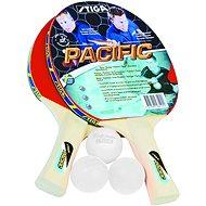 Stiga Set Pacific – 2 rakety a 3 loptičky - Set na stolný tenis