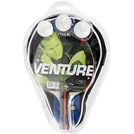 Stiga Set Venture – 1 raketa, 3 loptičky a obal - Súprava na stolný tenis