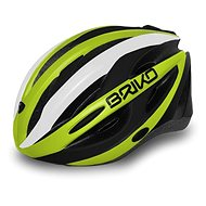 Brik Shire yellow-black M - Prilba na bicykel
