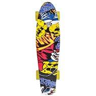 Schildkröt Retro Skateboard Free Spirit Party