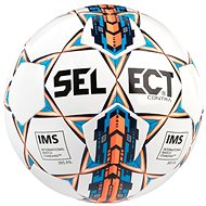 Select Contra white orange veľ. 5 - Futbalová lopta