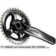 Shimano XTR FC-M9000 integr. kľučka 1× 11 170 mm bez prev. bez BB misiek bez krytu - Kľučky na bicykel