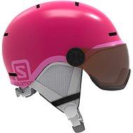 Salomon Grom Visor Glossy Pink - Lyžiarska prilba