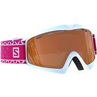 Salomon Kiwi Access Wh/Univ. T.Orange - Lyžiarske okuliare