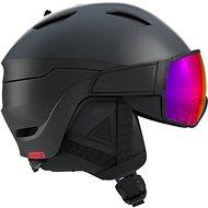 Salomon Driver Black/Red Accent/Solar - Lyžiarska prilba
