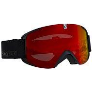 Salomon Xview Black/Univ.Mid Red - Lyžiarske okuliare