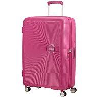 American Tourister Soundbox SPINNER 77/28 EXP TSA Magenta - Cestovný kufor s TSA zámkom