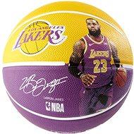 Spalding NBA Player Ball LeBron James veľkosť 7 - Basketbalová lopta