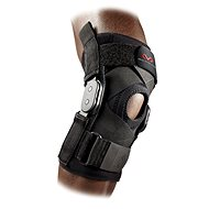 McDavid Hinged Knee Brace with Crossing Straps 429X, čierna M - Ortéza na koleno