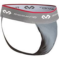 McDavid Athletic Supporter/mesh w/FlexCup™, sivá XL - Suspenzor