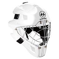 Unihoc maska OPTIMA 66 all white - Florbalová maska