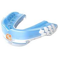 Shock Doctor Gel Max Power Trans Blue, dospelí, modrý - Chránič na zuby