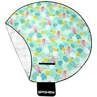 Spokey Picnic Flamingo okrúhla 150 cm - Pikniková deka