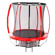 Stormred Pro, 244cm + Protective Net + Ladder - Trampoline