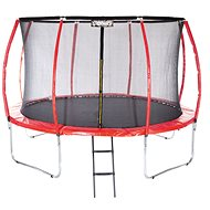 Stormred Pro 366cm + Protective Net + Ladder - Trampoline