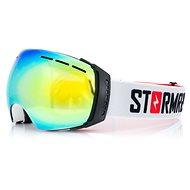 Stormred SNOW 3500 Black/Gold/White - Lyžiarske okuliare