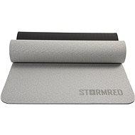 StormRed Yoga mat 8 Black/grey - Podložka na cvičenie