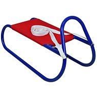 Sulov kovové 62 cm, červeno-modré - Sánky