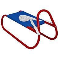Sulov kovové 62 cm, modro-červené - Sánky