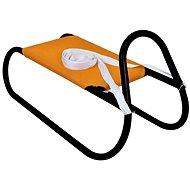 Sulov kovové 62 cm, oranžovo-čierne - Sánky