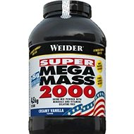 Weider Mega Mass 2000 vanilka 4,5 kg - Gainer