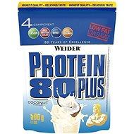 Weider Protein 80 Plus, 500g, Coconut - Protein