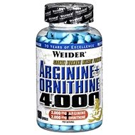 Weider Arginine + Ornithine 4000 180 kapsúl - Aminokyseliny