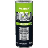 Weider BCAA RTD citrón-limetka 250 ml - Nápoj