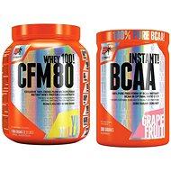 Extrifit CFM Instant Whey 80, 1000g, vanilla + Extrifit BCAA Instant 300 g grapefruit - Proteínová sada