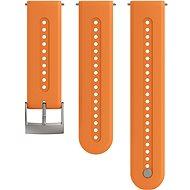 Suunto 24 mm Athletic 7 Silicone Strap Orange S/M - Remienok
