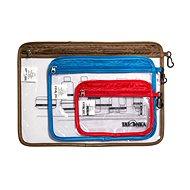 Kozmetická taška Tatonka Zip Flight Bag Set Transparent Uni