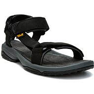 TEVA Terra Fi LITE Leather BLACK - Sandále