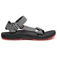 TEVA Winsted SOLID BLACK/RED - Sandále