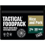 Tactical Foodpack Ryža s bravčovým mäsom - Jedlo
