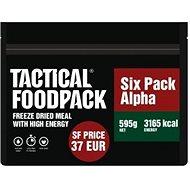 Tactical Foodpack Set 6× MRE Tactical Six Pack Alpha - Jedlo