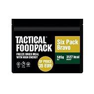 Tactical Foodpack Set 6x MRE Tactical Six Pack Bravo - Jedlo