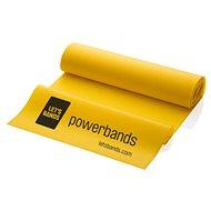 LET BANDS FLEX žltá - Posilňovacia guma